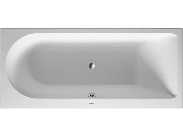Duravit Darling New Rechteck-Badewanne B:75xL:170cm Einbauversion Rückenschräge links weiß 700243000000000