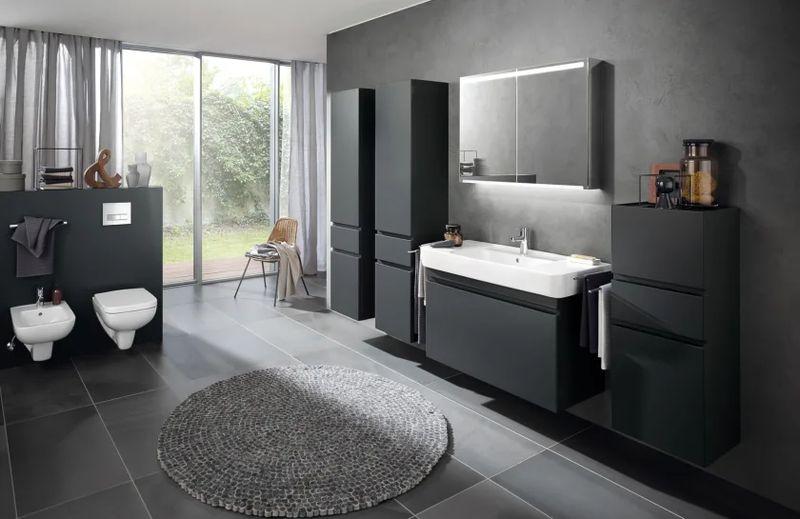 Geberit Keramag Renova Plan WC-Sitz mit Absenkautomatik weiß, Scharniere Messing verchromt 572145000