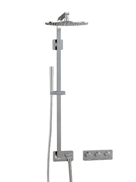Ideal Standard ARCHIMODULE Brauseanwendung SOFT mit Brausesystem und Handbrause chrom A1551AA
