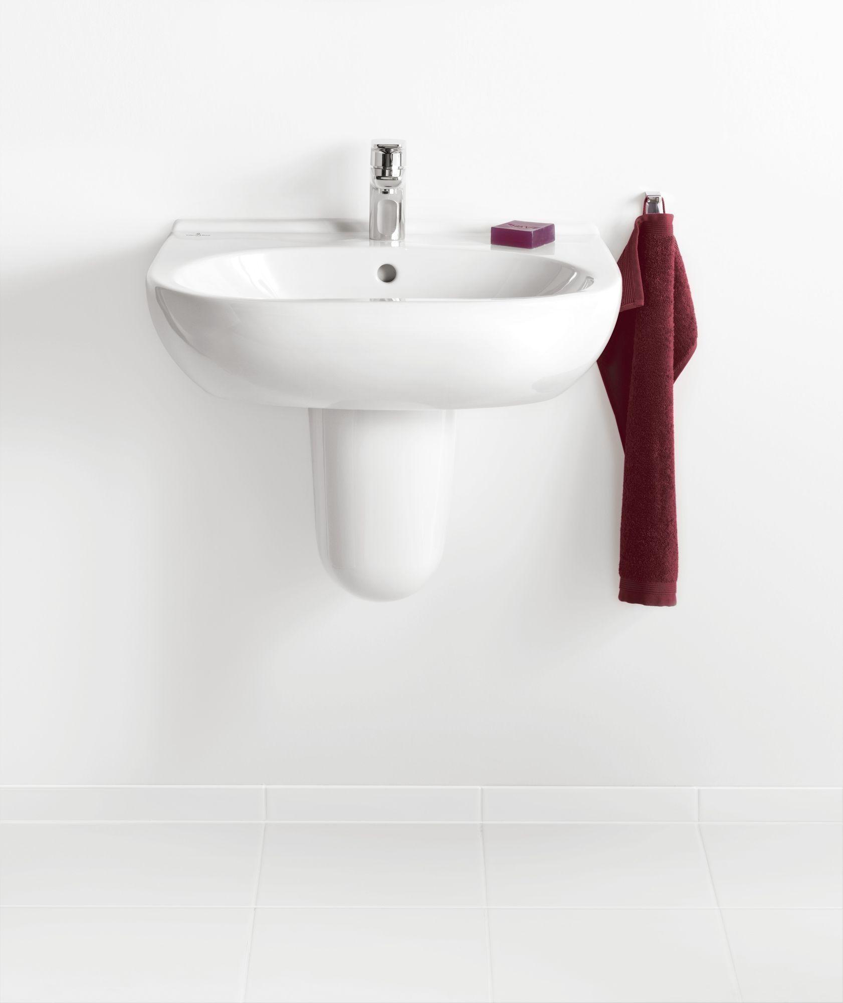 Villeroy & Boch O.novo Ablaufhaube weiß mit ceramicplus 526600R1