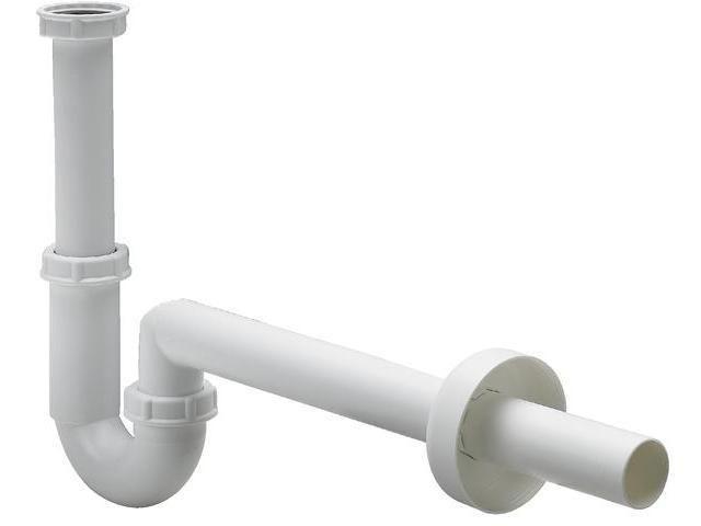 Viega Röhrengeruchverschluss 5611K, 406462 in G 1 1/4 x 40mm Kunststoff, weiss