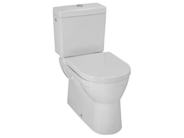 Laufen Pro Flachspül-Stand-WC für Kombination L:67xB:36cm weiß mit CleanCoat LCC H8249594000001
