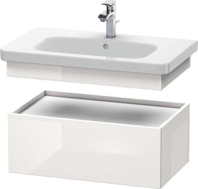 Duravit DuraStyle Waschtischunterschrank B:73xH:28,2xT:44,8cm 1 Auszug basalt matt, weiß matt DS628104318