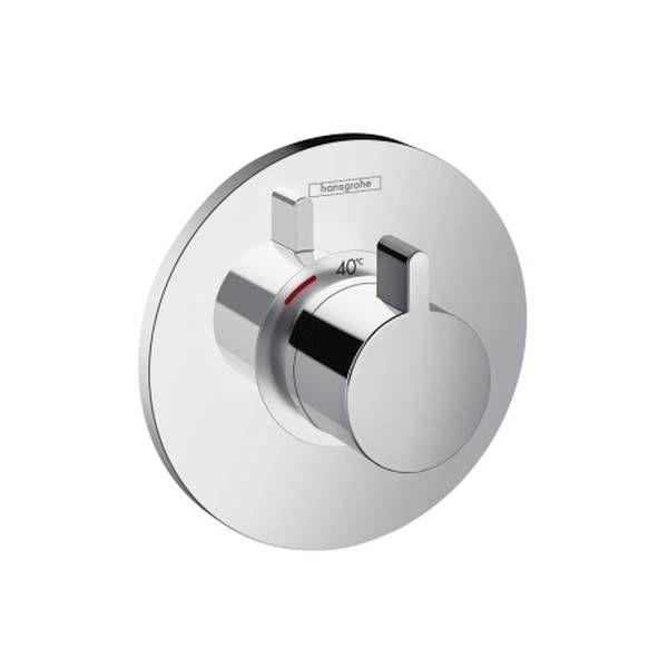 Hansgrohe Ecostat S Brausethermostat 59 l/min Highflow für Unterputz-Set chrom 15756000