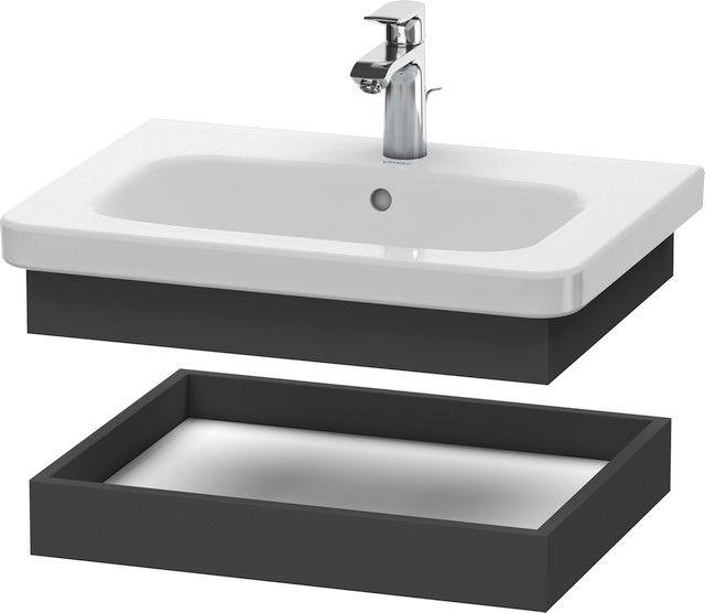 Duravit DuraStyle Ablageboard B:58xH:8,4xT:44,8 cm graphit matt DS618004949