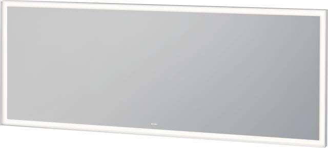 Duravit L-Cube Spiegel mit Beleuchtung B:180xH:70xT:6,7cm weiß matt gepulvert LC738600000