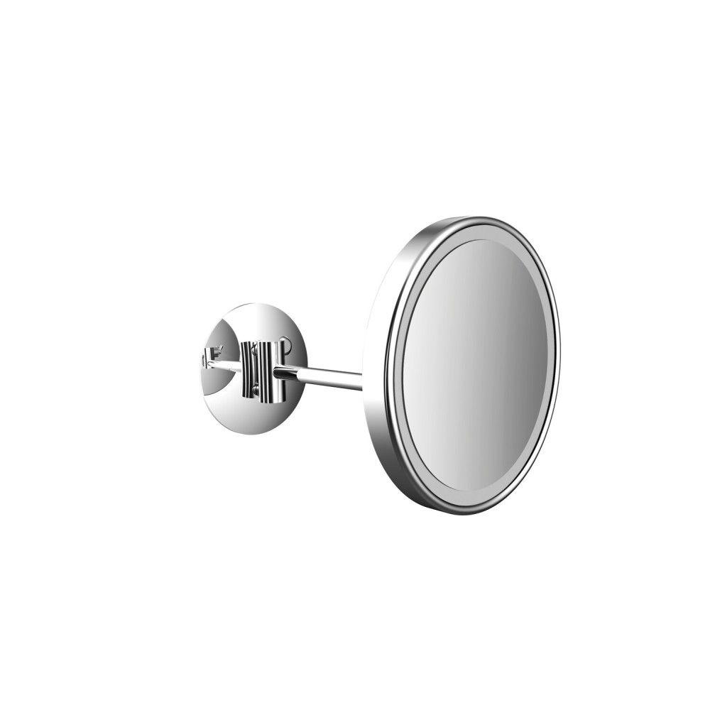 Emco Pure LED-Kosmetikspiegel D:20,3cm 3-fache Vergrößerung 1-armig chrom 109406007