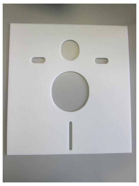 Schallschutz-Set für Wand-WC und Wand-Bidet