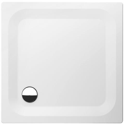 Bette Rechteck-Duschwanne superflach L:90xB:90xT:2,5cm weiß 5930-000