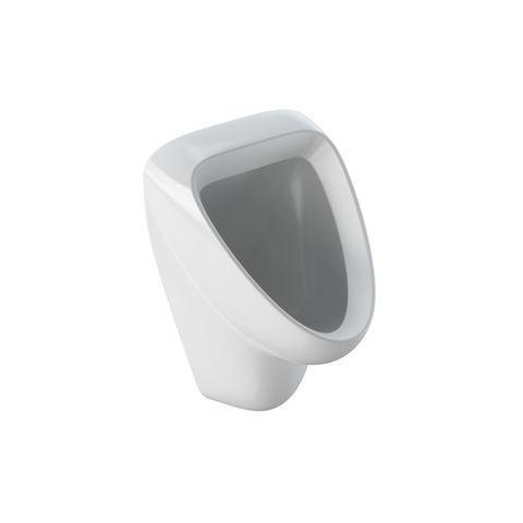 Geberit Keramag Aller Urinal ohne Deckel mit Zielobjekt Zulauf von hinten weiß mit Keratect 236520600