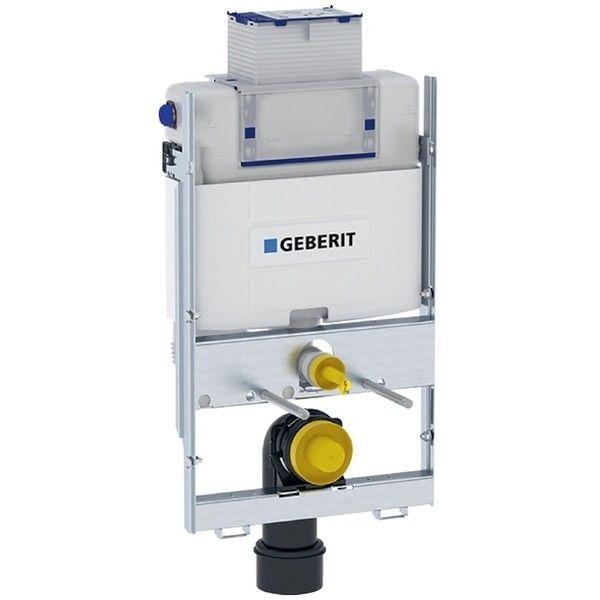 Geberit GIS Element für Wand-WC 87cm mit Omega Unterputz-Spülkasten 12cm Betätigung vorne oben 461141001