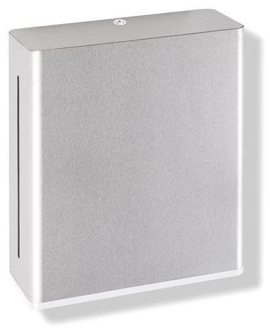 HEWI Papierhandtuchspender Serie 805 Edelstahl Reinweiß 805.06.500 99