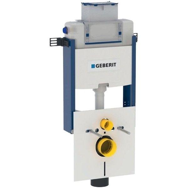 Geberit Kombifix Element für Wand-WC 98cm mit Omega Unterputz-Spülkasten 12cm Betätigung vorne oben 110010001