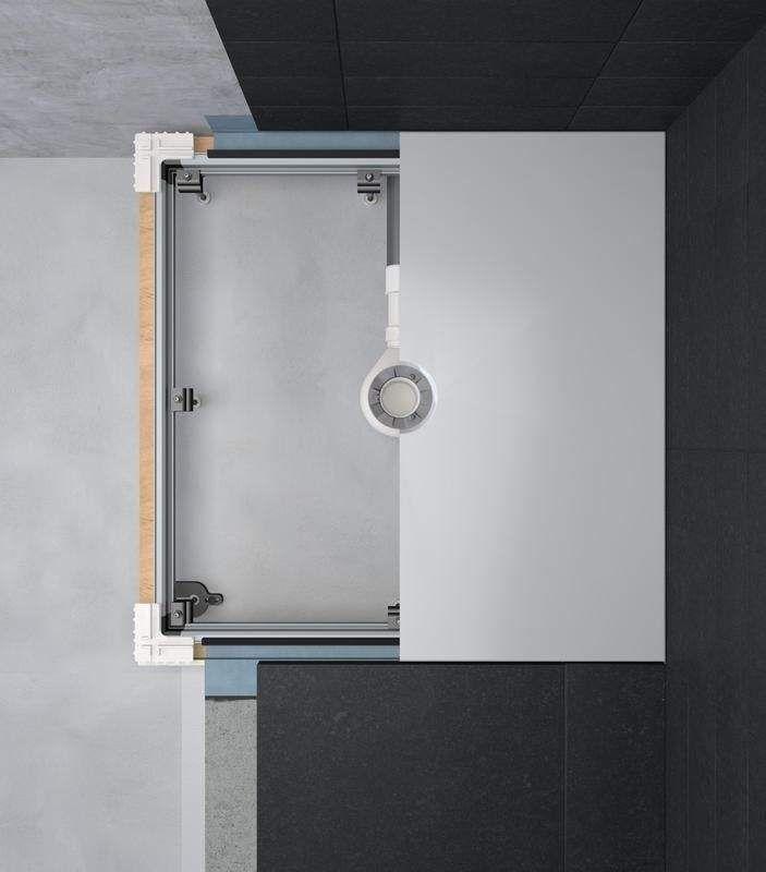 Bette Einbausystem Universal bodengleich 120x80 B50-6049