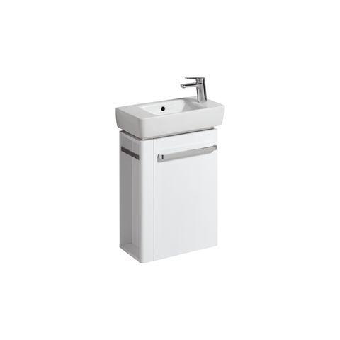Geberit Keramag Renova Compact Handwaschbecken-Unterschrank Handtuchhalter links B:44,8xH:60,4xT:22,2cm weiß 862250000