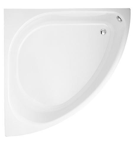 Bette Arco Eck-Badewanne L:140xB:140xT:58,8cm weiß mit BetteGlasur Plus 6035-000PLUS