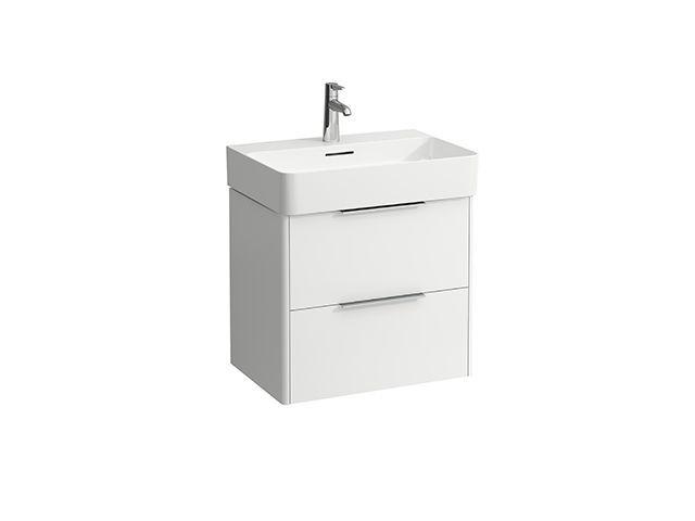 Laufen Base für VAL Waschtischunterschrank B:58,5cmxH:53cmxT:39cm mit 2 Schubladen Weiß matt H4022521102601