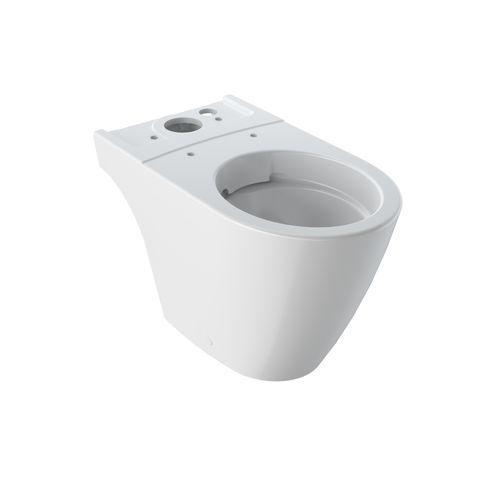 Geberit Keramag iCon Tiefspül-Stand-WC für Kombination ohne Spülrand L:64xB:37,5xH:40cm weiß mit KeraTect 200460600