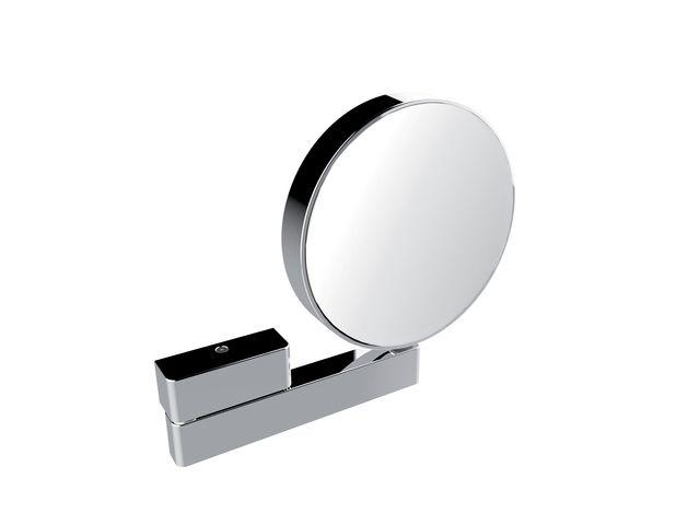 Emco Rasier- & Kosmetikspiegel Gelenkarm unbeleuchtet Vergrößerung 3- & 7-fach Direktanschluss chrom 109500117