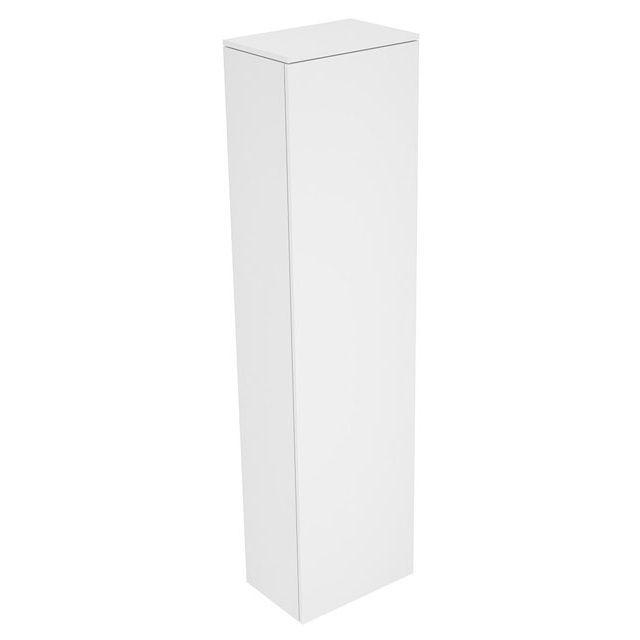 Keuco Edition 400 Hochschrank 1-türig  Anschlag rechts 450 x 1769 x 300 mm weiß hochglanz/weiß hochglanz 31735210002