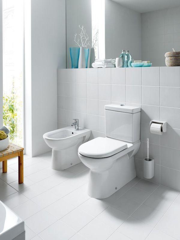 Laufen Pro Tiefspül-Stand-WC für Kombination L:70xB:36cm weiß mit CleanCoat LCC H8249554000001