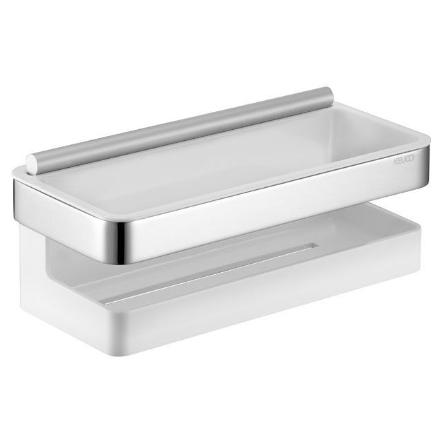Keuco Moll Kunststoff-Einsatz für Duschkorb weiß 12759000100