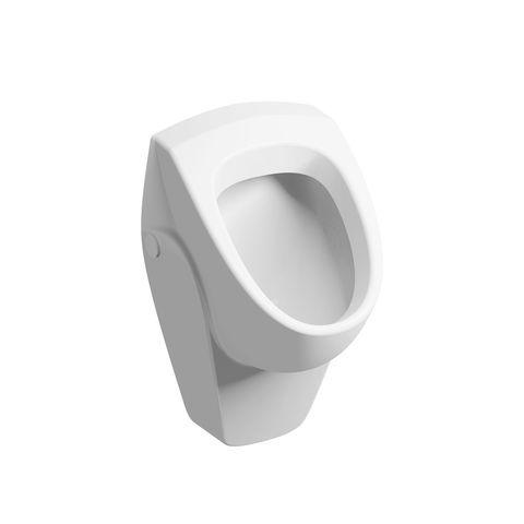 Geberit Keramag Renova Urinal ohne Deckel Zulauf von hinten weiß mit Keratect 235300600