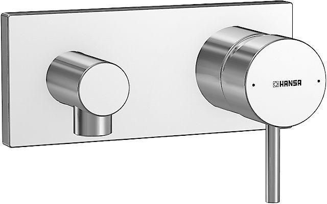 Hansa Fertigmontageset Thermostat-Batterie zu Hansastela, Hansamatrix 44569503, chrom