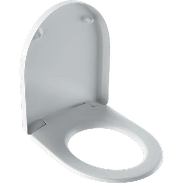 GE iCon WC-Sitz mit Absenkautomatik, Quick Release, weiß 500670011