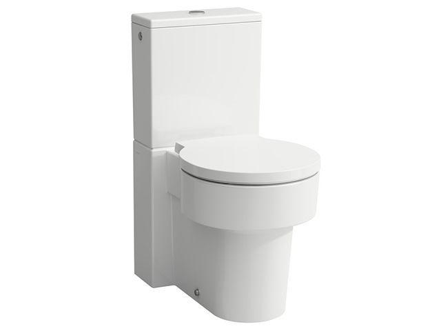 Laufen Tiefspül-WC Kombination Val 660x390x440 spülrandlos Abgang waagrecht /senkrecht LCC weiss H8242814000001