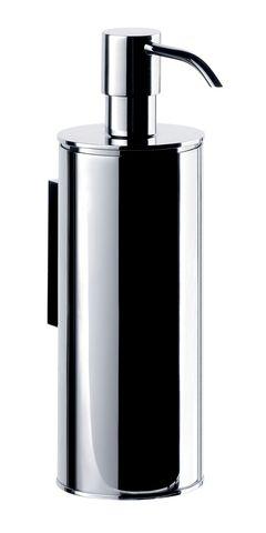 Emco system 2 Seifenspender Metallgeh. Pumpe oben diebstahlhemm.250ml chrom 352100105