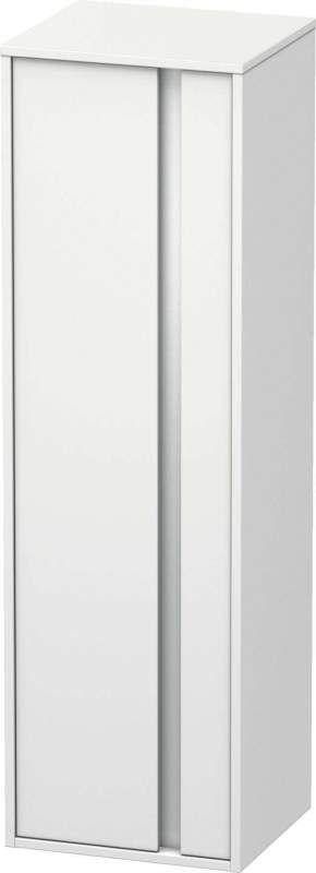 Duravit Ketho Hochschrank B:40xH:132xT:36cm 1 Tür Türanschlag links weiß matt KT1257L1818