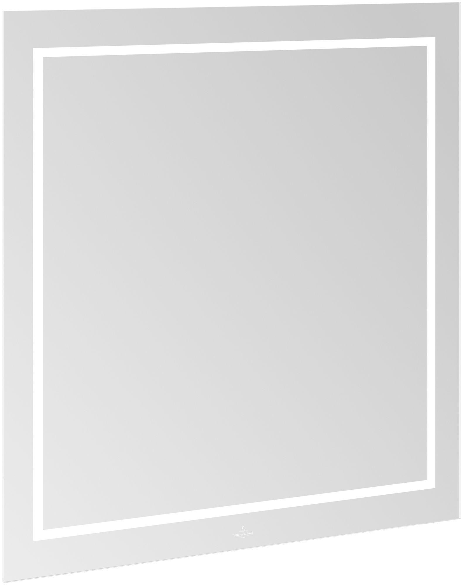 Villeroy & Boch Finion G600 Spiegel LED-Beleuchtung B:80xH:75xT:4,5cm G6008000