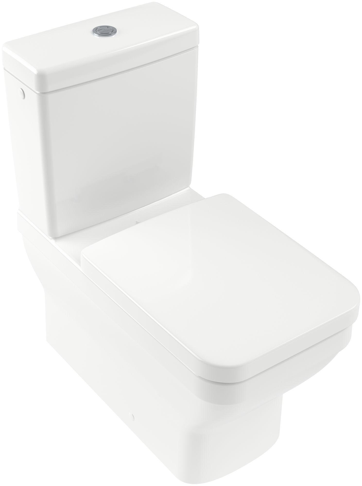 Villeroy & Boch Architectura Tiefspül-Stand-WC für Kombination mit Spülrand B:37xL:70cm weiß Ceramicplus 568710R1