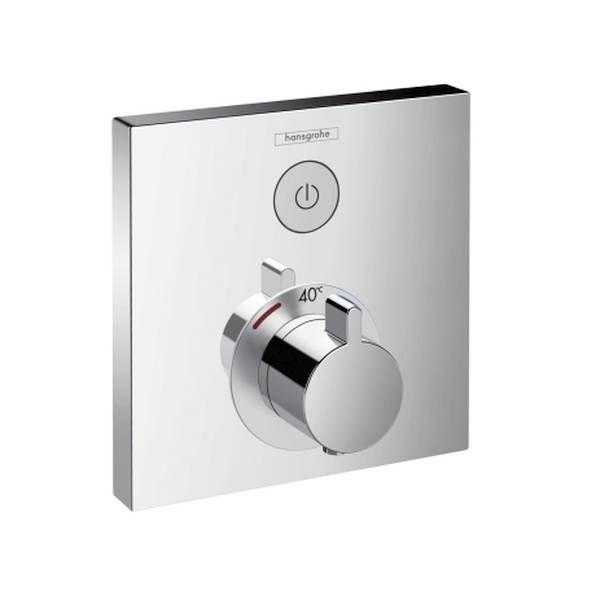 Hansgrohe ShowerSelect Thermostat für Unterputz-Set für 1 Verbraucher chrom 15762000