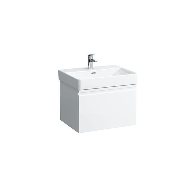 Laufen Pro S Waschtischunterbau 1 Schublade und Innenschublade B:57xH:39xT:45cm weiß glänzend H4833720964751