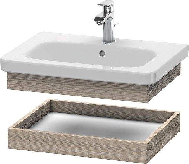 Duravit DuraStyle Ablageboard B:58xH:8,4xT:44,8 cm pine silver DS618003131