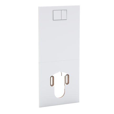 Geberit Designplatte für Geberit AquaClean Sela Kunststoff weiß-alpin 115329111