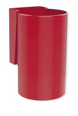 HEWI Abfallbehälter Serie 477 zur Kniebetätigung Rubinrot 477.05.100 33