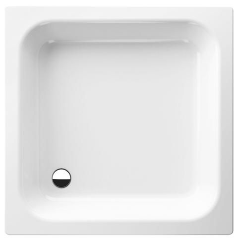 Bette Rechteck-Duschwanne L:90xB:80xT:15cm weiß 5950-000
