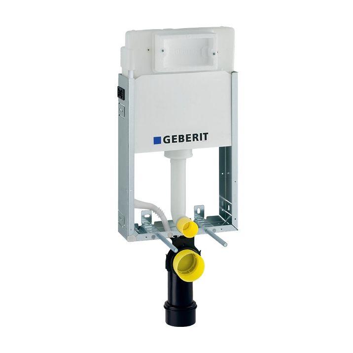 Geberit Kombifix Basic Wand-WC Montageelement 108cm mit Delta UP-Spülkasten UP100 110100001