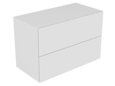 Keuco Edition 11 Sideboard 2 Frontauszüge mit Beleuchtung eiche platin 31325440100
