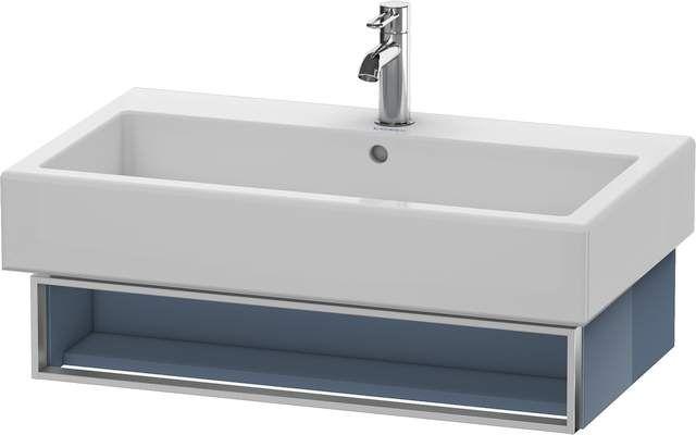 Duravit Vero Waschtischunterschrank wandhängend für 045480 B:75xH:15,5xT:43,1cm 1 Fach stone blue hochglanz VE600604747