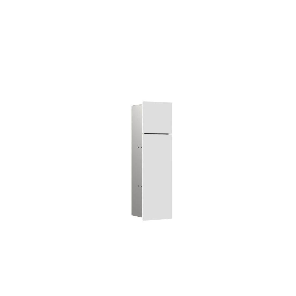 Emco Asis Pure WC-Modul H:60xB17xT:14,85cm Unterputz Anschlag links weiß matt 975551302