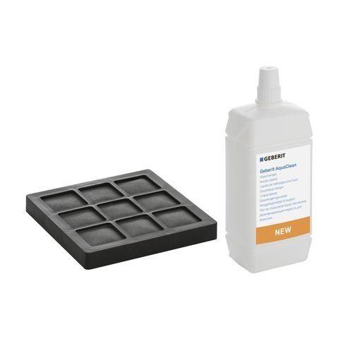 Geberit Set Aktivkohlefilter und Düsenreiniger für Geberit AquaClean WC-Komplettanlagen 240625001