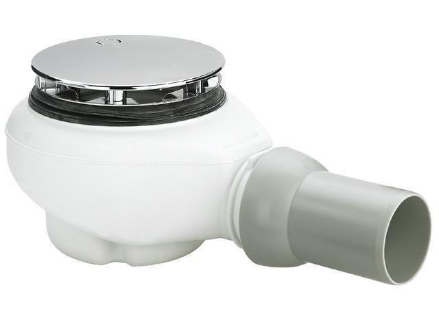 Viega Ablaufgarnitur Tempoplex Plus 6960, 578916 in 112 x 50mm Kunststoff, verchromt