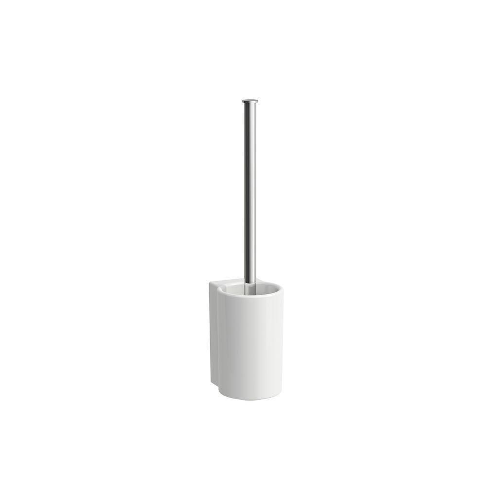 Laufen WC-Bürstengarnitur mit Klosettbürste Val 150x100x360 SaphirKeramik weiss H8722820000001