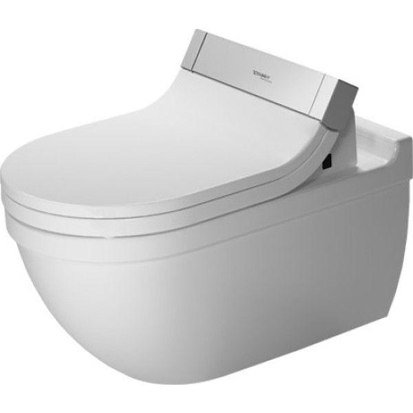 Duravit Starck 3 Tiefspül-Wand-WC L:62xB:37cm weiß mit Wondergliss 22265900001