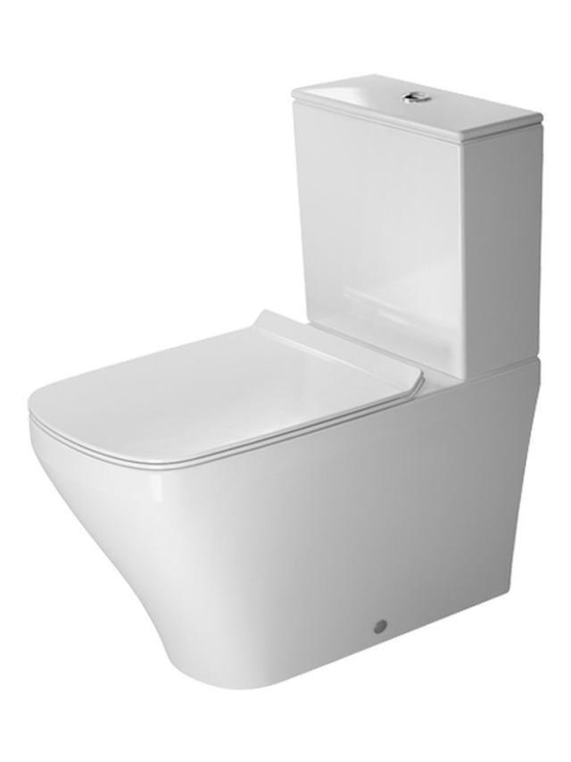 Duravit DuraStyle Tiefspül-Stand-WC für Aufsatzspülkasten Vario Abgang L:70xB:37xH:40cm weiß mit Wondergliss 21560900001