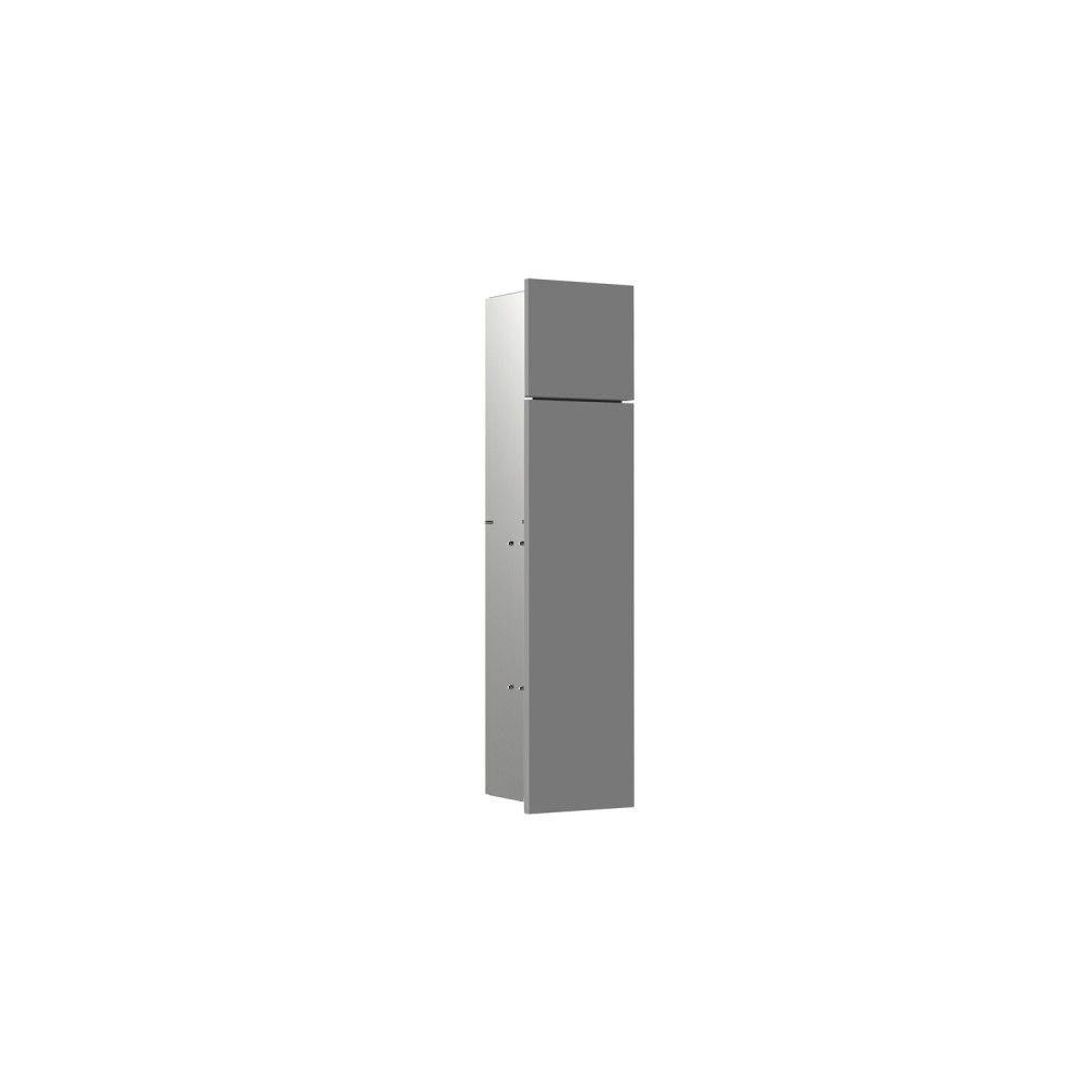 Emco Asis Pure WC-Modul H:73xB:17xT:14,85cm Unterputz Anschlag links diamantgrau 975551500